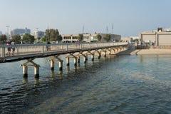 Promenade de Tel Aviv Photo stock