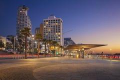 Promenade de Tel Aviv Photo libre de droits