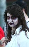Promenade de zombi de Belgrade Photographie stock