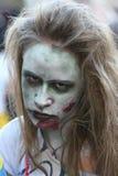 Promenade de zombi de Belgrade Photo libre de droits