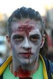 Promenade de zombi de Belgrade Image libre de droits