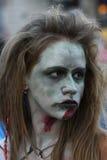 Promenade de zombi de Belgrade Images stock