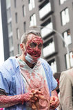 Promenade de zombi de Montréal Images stock