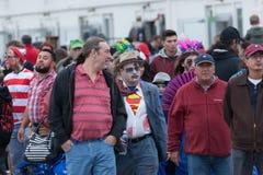 Promenade 2016 de zombi de New Jersey Photos stock