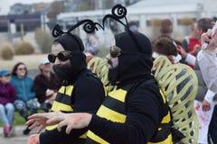 Promenade 2016 de zombi de New Jersey Photos libres de droits