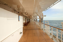 Promenade Deck Royalty Free Stock Photos