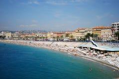Promenade des Anglais, θάλασσα, σώμα του νερού, ουρανός, παραλία Στοκ φωτογραφία με δικαίωμα ελεύθερης χρήσης