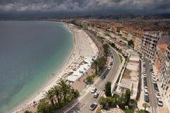 Promenade des Anglais Στοκ Εικόνα