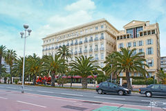 Promenade des Anglais Στοκ εικόνες με δικαίωμα ελεύθερης χρήσης