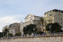 Promenade des Anglais Stock Fotografie