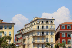 Promenade des Anglais Royalty Free Stock Photo