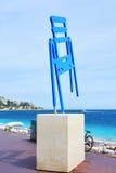 Promenade des Anglais em agradável, França imagens de stock royalty free