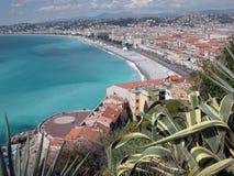 Promenade des Anglais, Nice Royalty-vrije Stock Afbeeldingen
