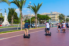 Promenade des Anglais in Nice, France Stock Photo