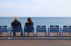 Promenade des Anglais, Nice, France. Royalty Free Stock Image