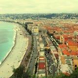 Promenade des anglais, Nice, France Stock Image
