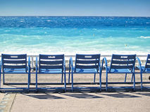 Promenade des Anglais, Nice, France Stock Photos