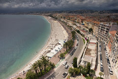 Promenade des Anglais Stock Image