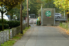 Promenade Deutscher Fussball lizenzfreie stockfotografie