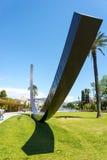 Promenade du Paillon Νίκαια γλυπτό Στοκ εικόνες με δικαίωμα ελεύθερης χρήσης