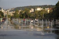 Promenade du Paillon lizenzfreie stockfotografie