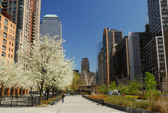 Promenade du sud à New York photos stock