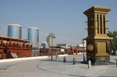 Promenade at Dubai Creek Royalty Free Stock Photo