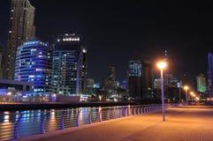 Promenade in Dubai Marina Stock Image