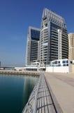 Promenade in Dubai Marina Royalty Free Stock Images