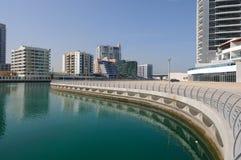 Promenade at Dubai Marina Stock Photography