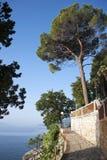 Promenade durch das Meer Stockfotografie