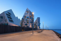 'promenade' en Aarhus en Dinamarca Imagen de archivo
