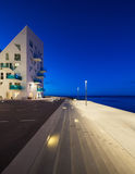 'promenade' en Aarhus en Dinamarca Imagenes de archivo