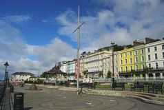 'promenade' en Cobh Imagen de archivo libre de regalías