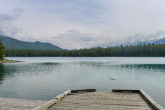Promenade en Jasper Canada images stock
