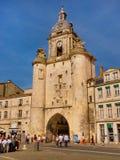 Promenade en la ciudad vieja de La Rochelle, Francia Imagenes de archivo