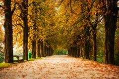 'promenade' en Ljubljana, Eslovenia Imagen de archivo