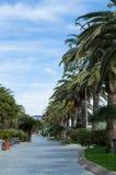 'promenade' en Loano - Italia Imagen de archivo