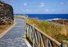 'promenade' en Rinlo Imagenes de archivo
