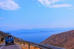 Promenade en voiture en Croatie Photo stock