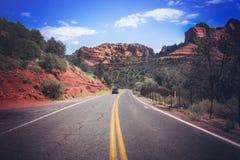 Promenade en voiture de l'Arizona Images libres de droits