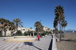 Promenade in Estepona, Spain Royalty Free Stock Photo