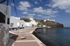 'promenade' frente al mar en Las Playitas Fotos de archivo