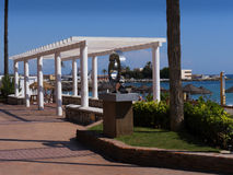 Promenade in Fuengirola on the Costa Del Sol Spain Royalty Free Stock Photo