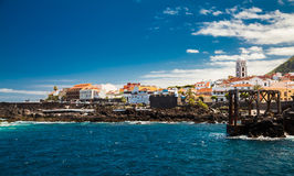 Promenade in Garachico, Tenerife royalty free stock photos