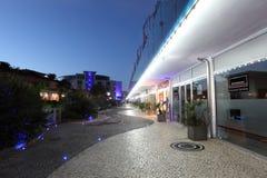 Promenade in Gibraltar Stock Photos