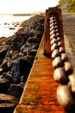 Promenade at Golden Gate National Recreation Area Stock Photography