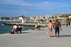 Promenade in Kusadasi Stock Photography