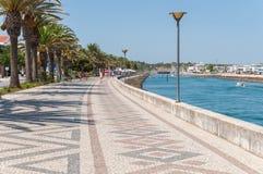 Promenade in Lagos, Algarve, Portugal Stock Photo