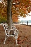 Promenade at Lake Balaton Stock Photo